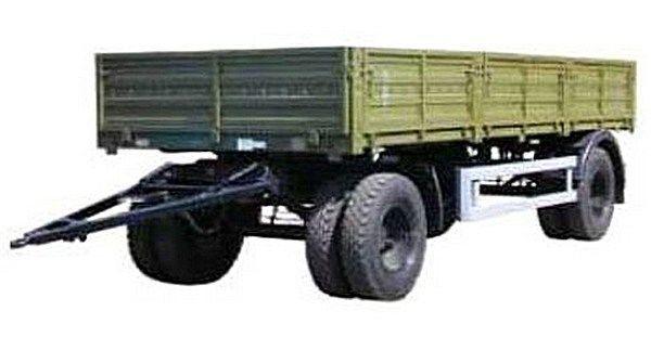 новый бортовой прицеп КАМАЗ СЗАП-8355