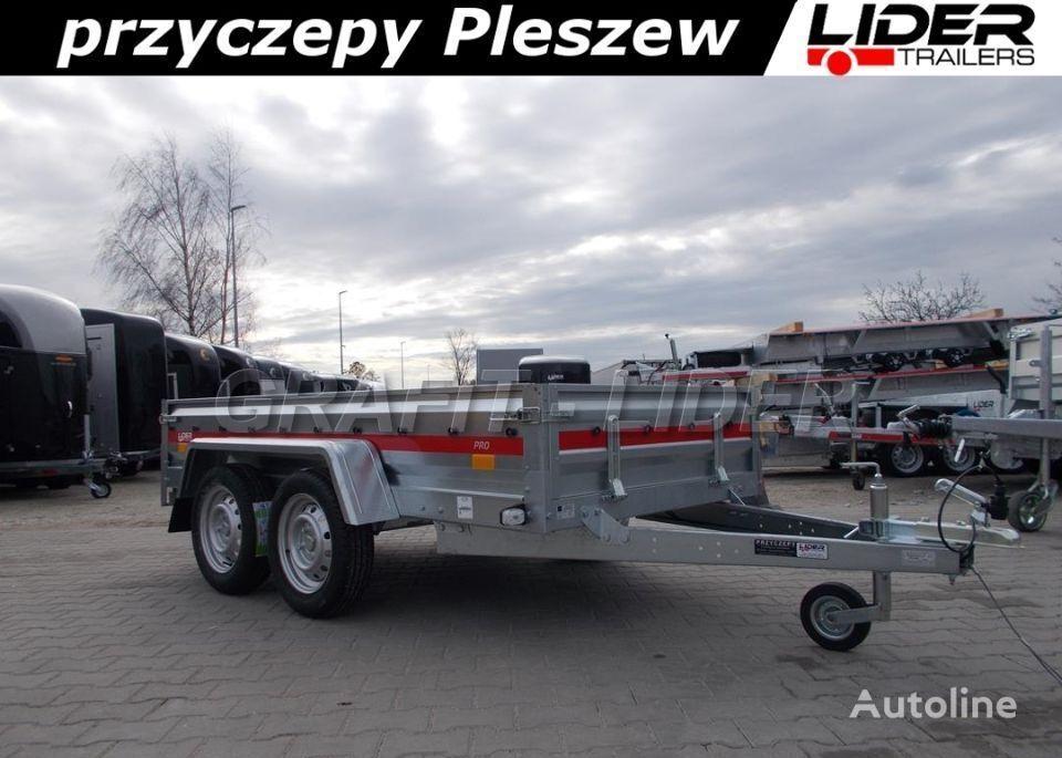новый бортовой прицеп TEMARED TM-148 przyczepa 263x125x35cm, PRO 2612/2, lekka, dwuosi