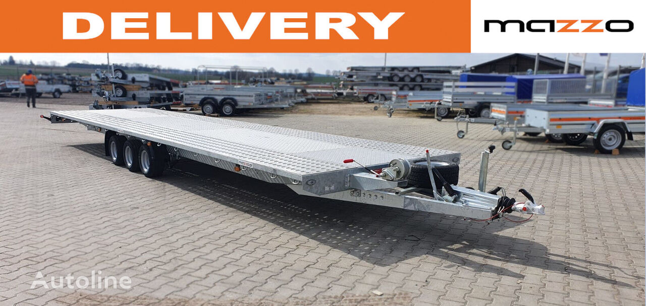 новый прицеп автовоз I8535P 850x210cm Schock absobers + spare wheel GVW 3500kg platfo