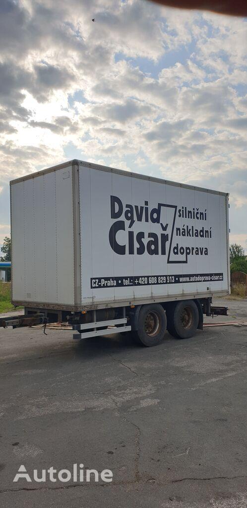 прицеп фургон SVAN CHTP 18V Standard, Drum Breaks