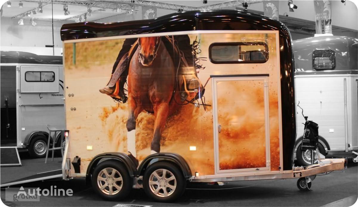 новый прицеп коневоз CHEVAL LIBERTE PRZYCZEPA do przewozu koni z przednim wyjściem Gold Touring