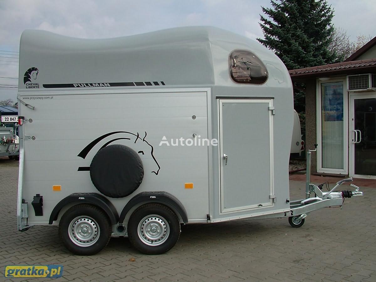 новый прицеп коневоз CHEVAL LIBERTE Przyczepa marki Debon Aluminiowa model Gold Two