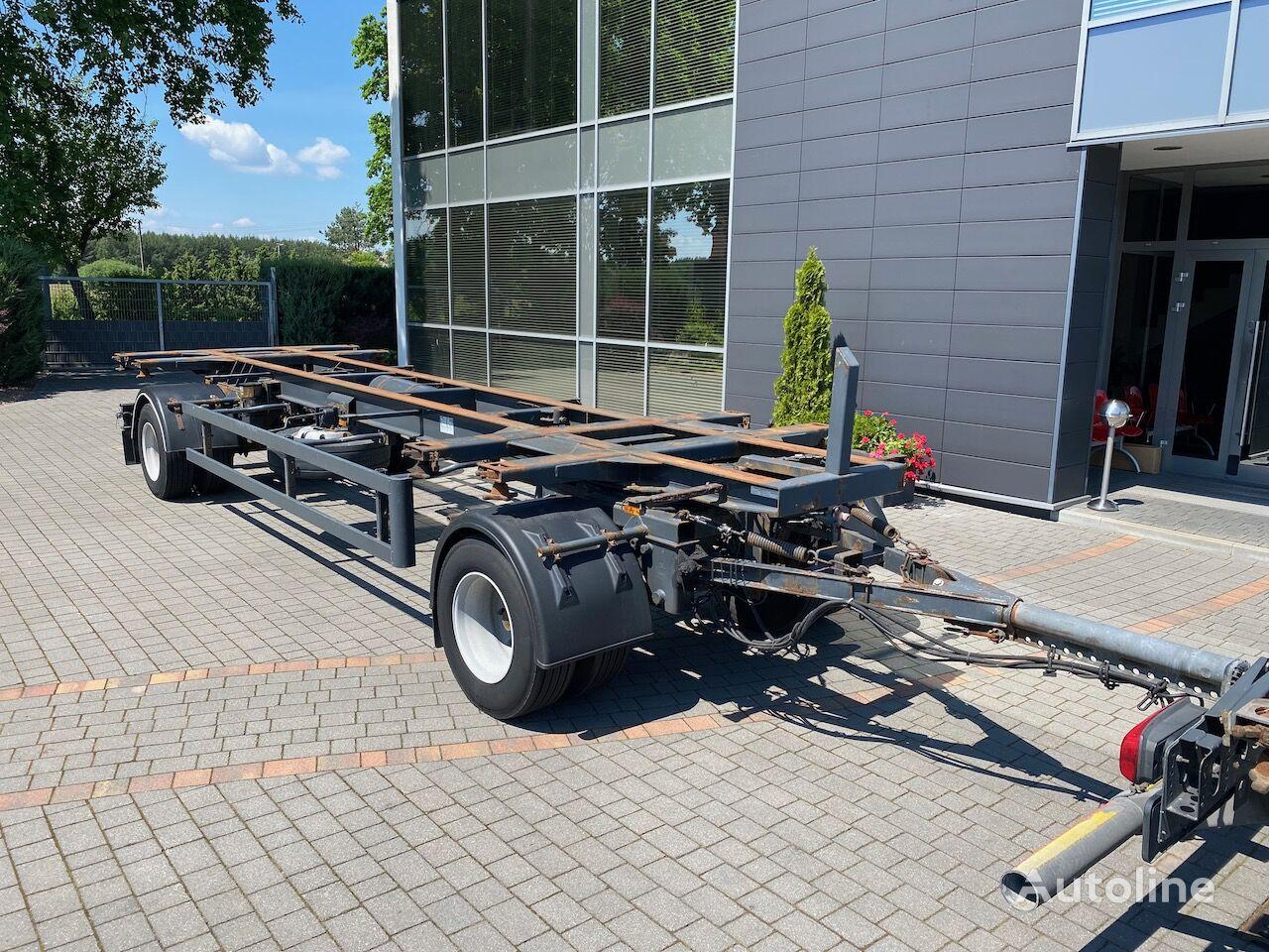 прицеп контейнеровоз Schmidt Hagen FT/20/Z/7 3250kg