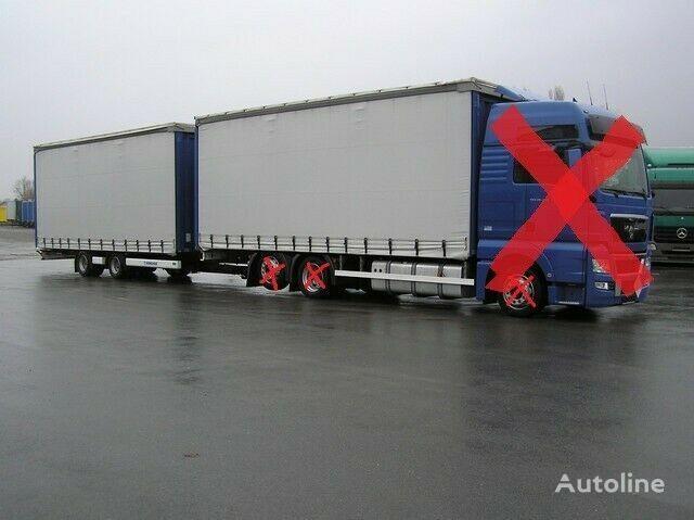 новый прицеп штора MAN NUR AUFBAU für MAN TGS/TGX-4800