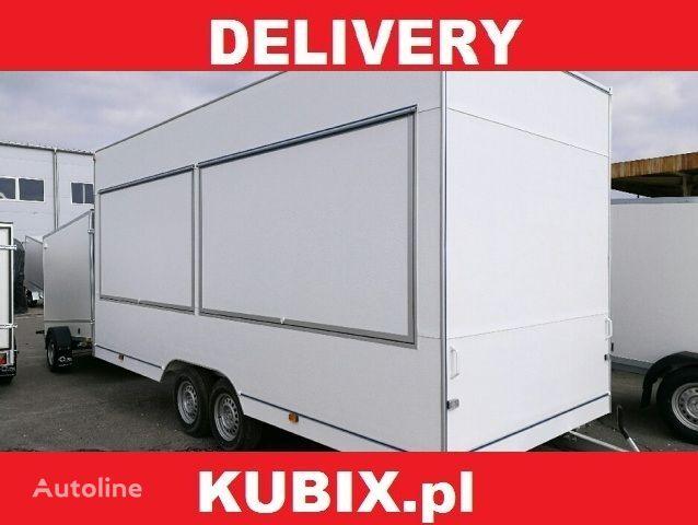 новый торговый прицеп NIEWIADOW H25522HT, 520x203x230, 2500kg