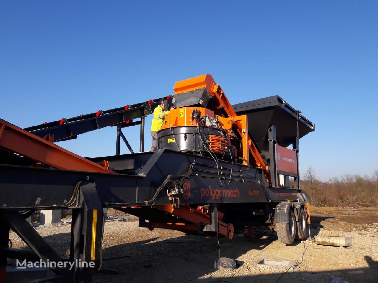 новая камнедробилка POLYGONMACH VSI-700/800/900 VERTICAL SHAFT IMPACTOR