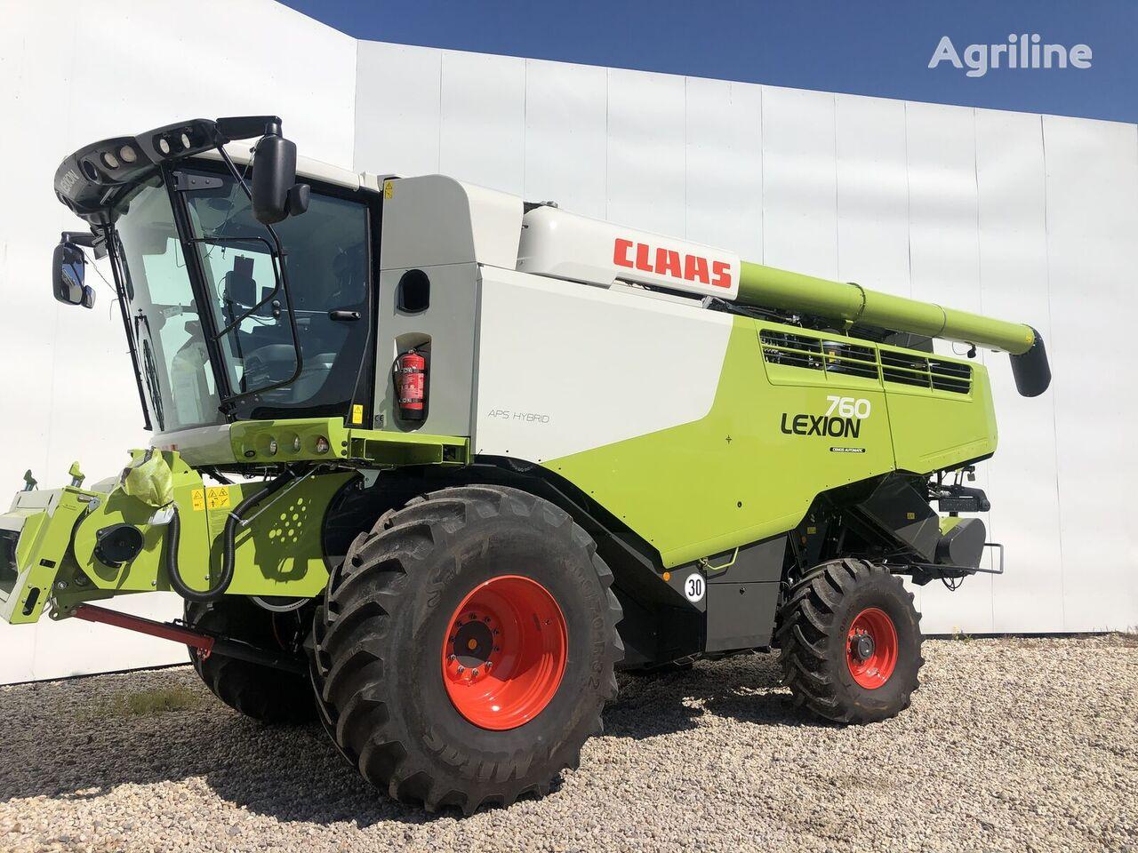 новый комбайн CLAAS Lexion 760