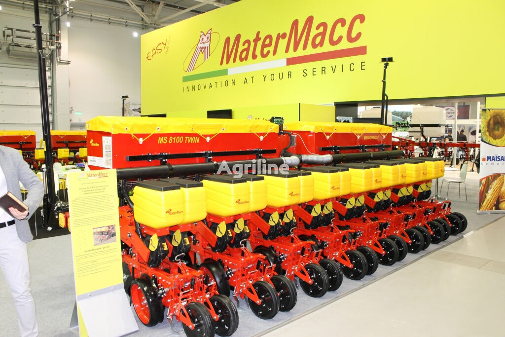 новая сеялка точного высева пневматическая MATERMACC Twin 8100