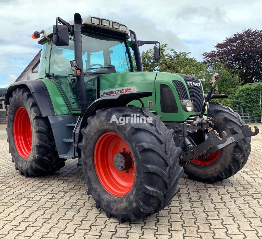 трактор колесный FENDT 716 VARIO Allrad Traktor