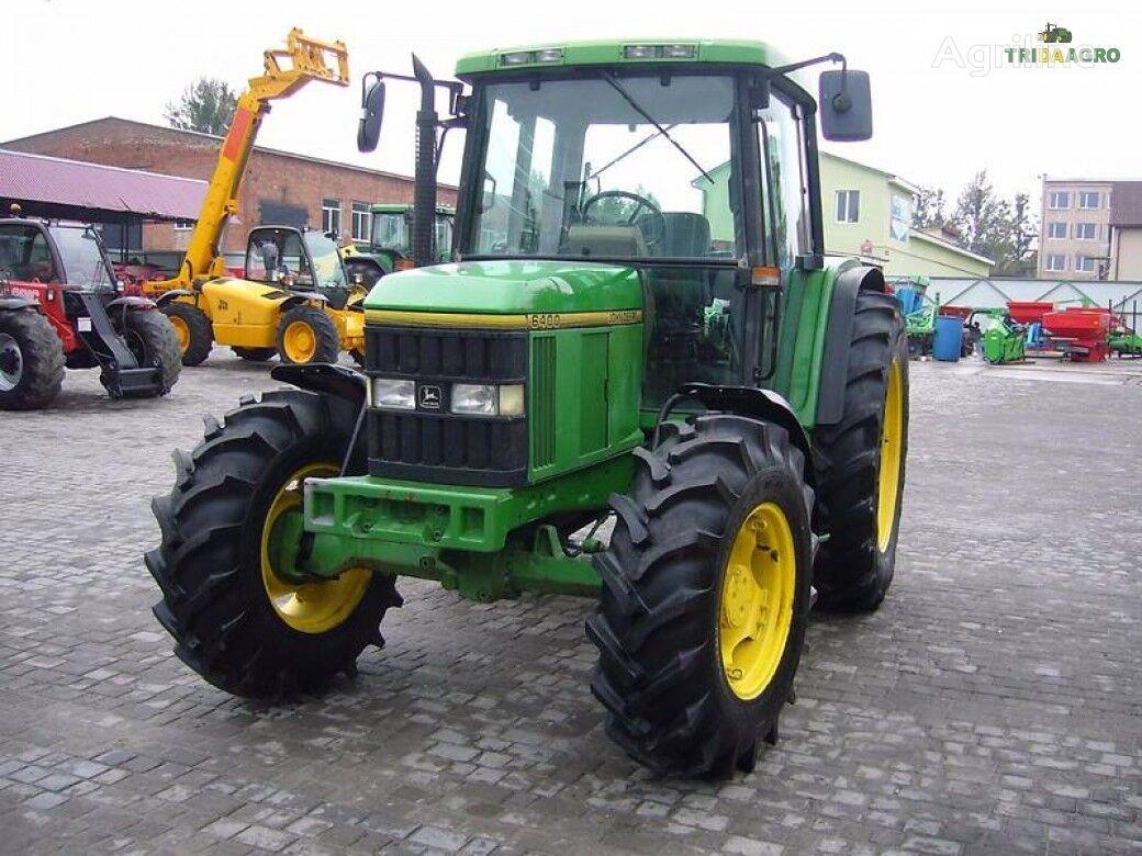 трактор колесный JOHN DEERE 6400