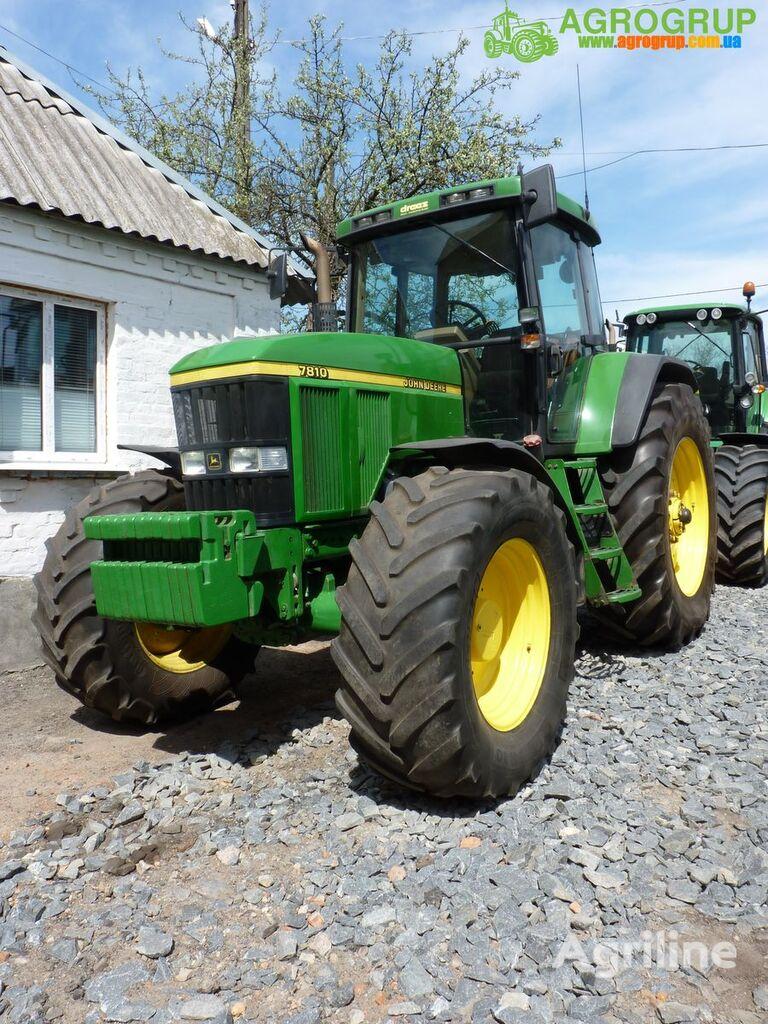 трактор колесный JOHN DEERE 7810