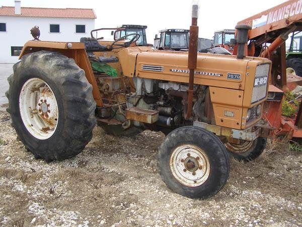 трактор колесный Barreiros 70.70