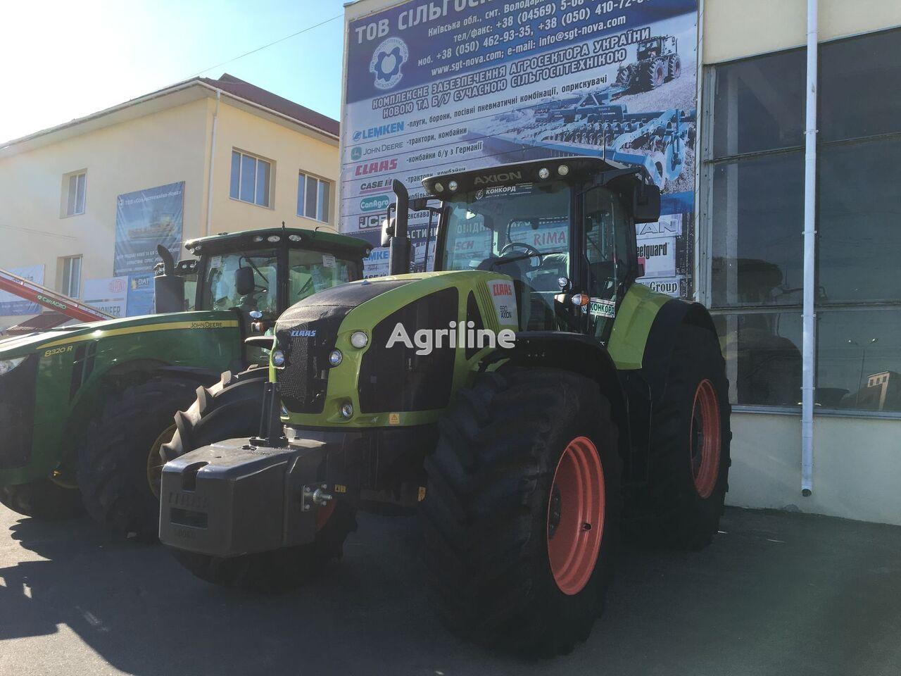 трактор колесный CLAAS Axion 930