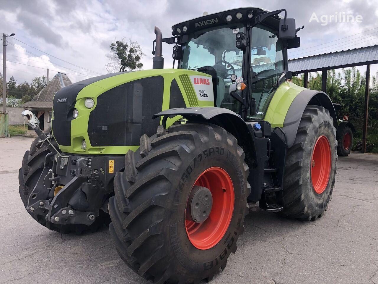 трактор колесный CLAAS Axion 940 Cmatic
