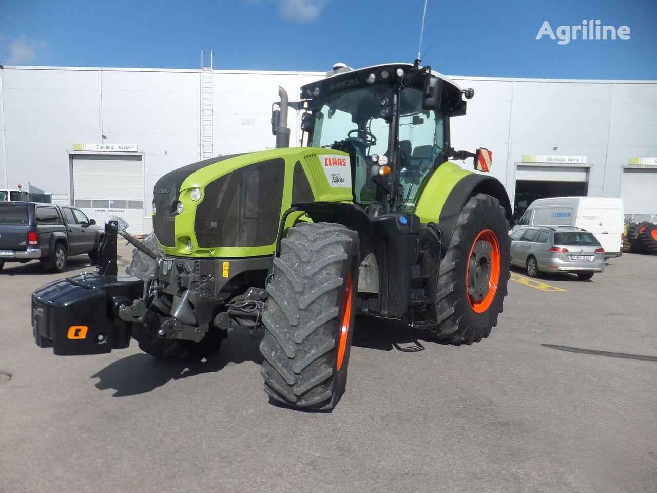 трактор колесный CLAAS Axion 950