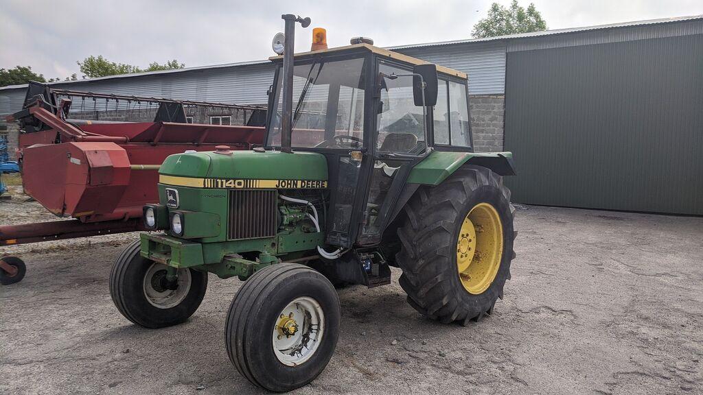 трактор колесный JOHN DEERE 1140