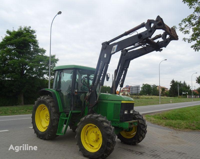 трактор колесный JOHN DEERE 6610