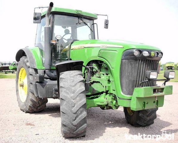 трактор колесный JOHN DEERE 8320