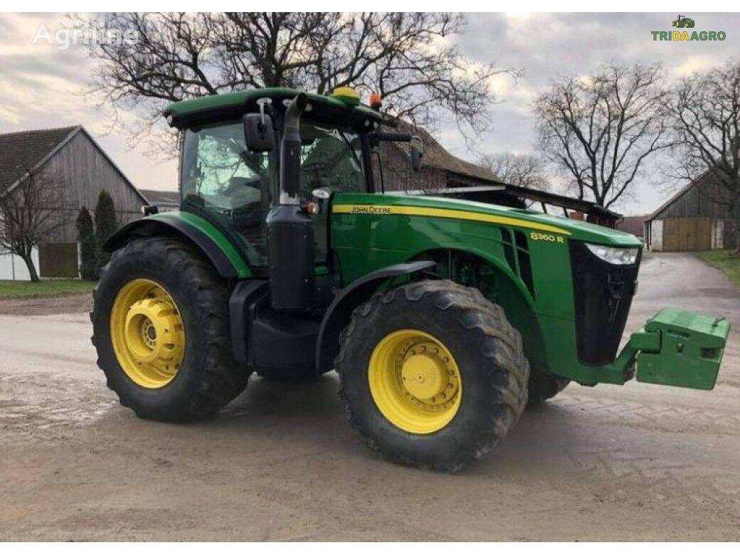 трактор колесный JOHN DEERE 8360R