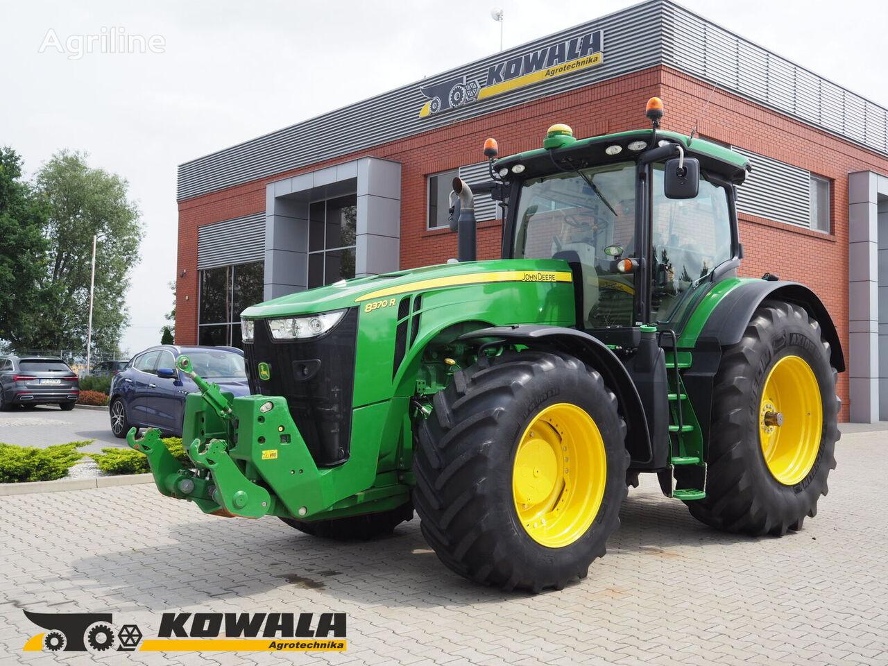трактор колесный JOHN DEERE 8370 R