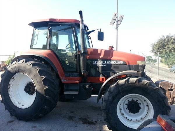 трактор колесный NEW HOLLAND G190 para peças по запчастям