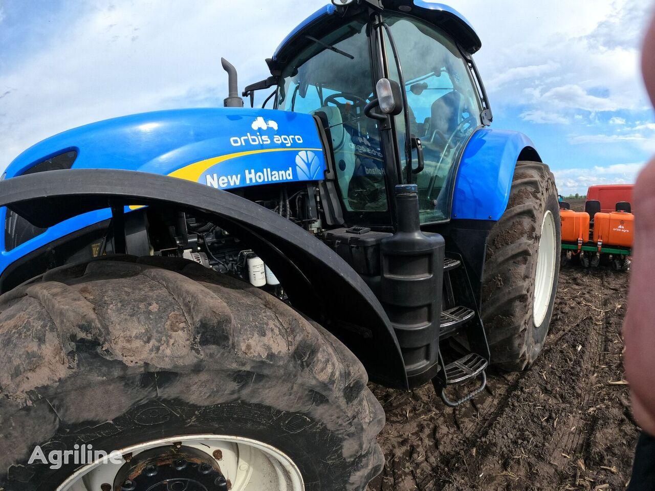 трактор колесный NEW HOLLAND Т7060