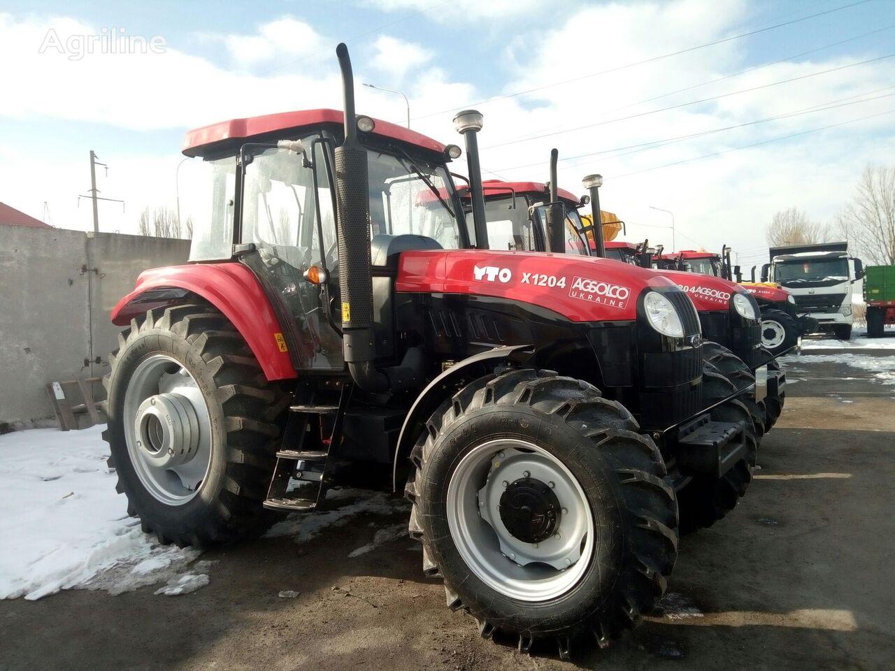 новый трактор колесный YTO X1204