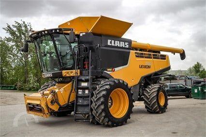зерноуборочный комбайн CLAAS 740