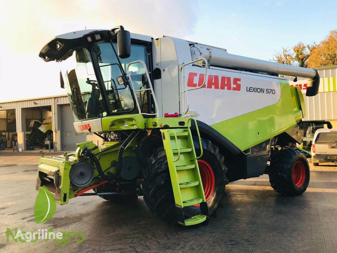 зерноуборочный комбайн CLAAS Lexion 570 (з Європи)