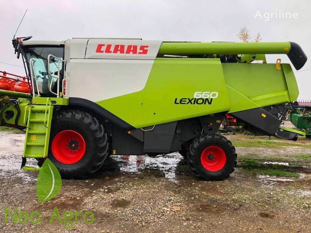 зерноуборочный комбайн CLAAS Lexion 660 (з Європи)