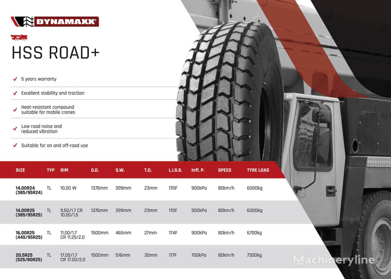 новая шина для автокрана DYNAMAXX (445/95R25) HSS ROAD+ 174F TL