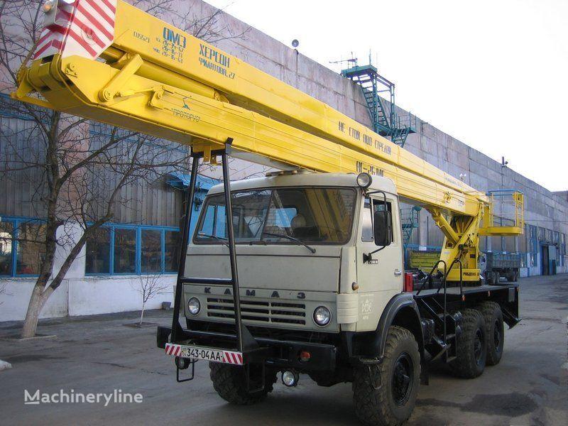автовышка КАМАЗ
