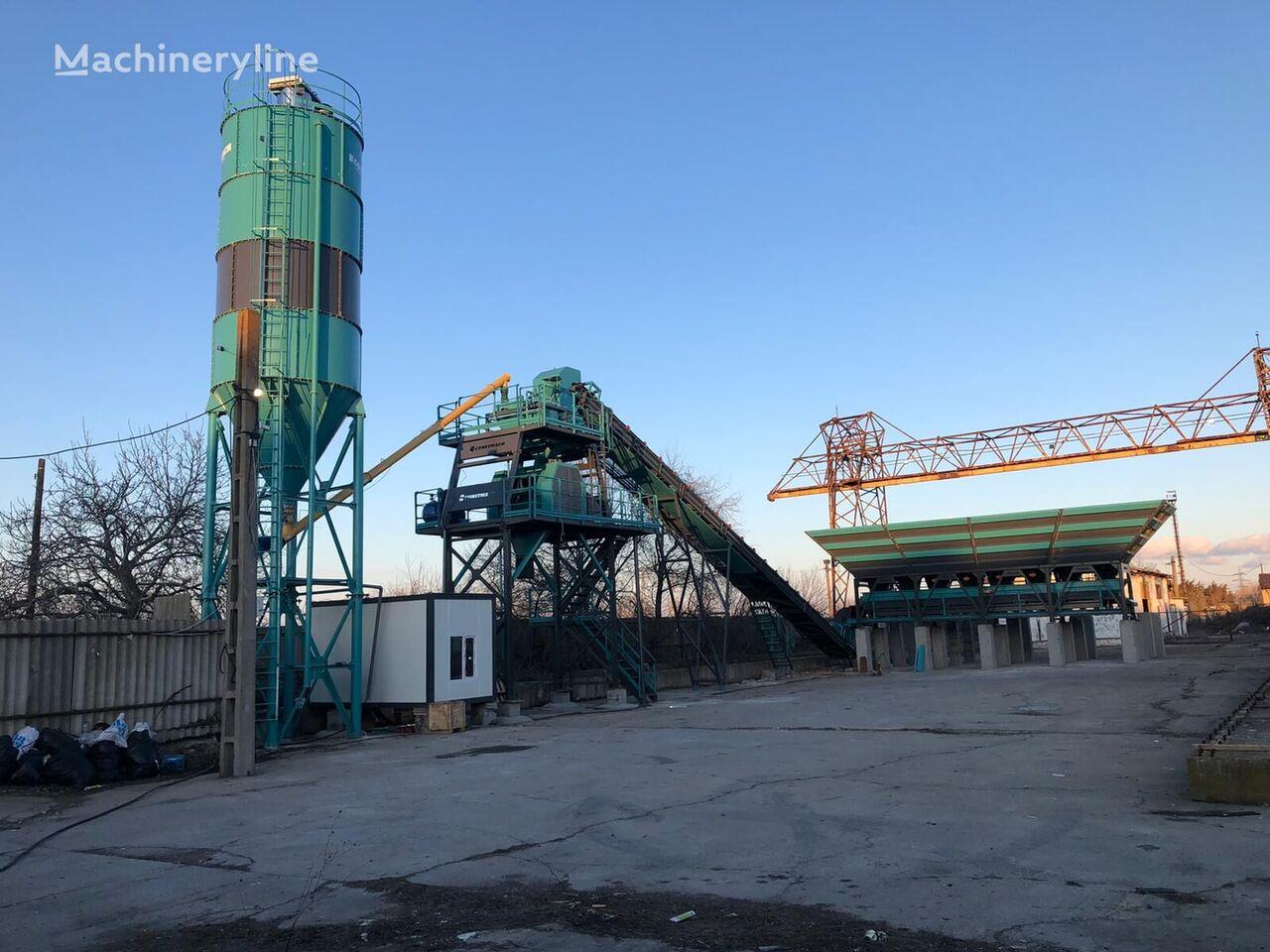 новый бетонный завод CONSTMACH 60 m3 Concrete Batching Plant For Sale Best Price