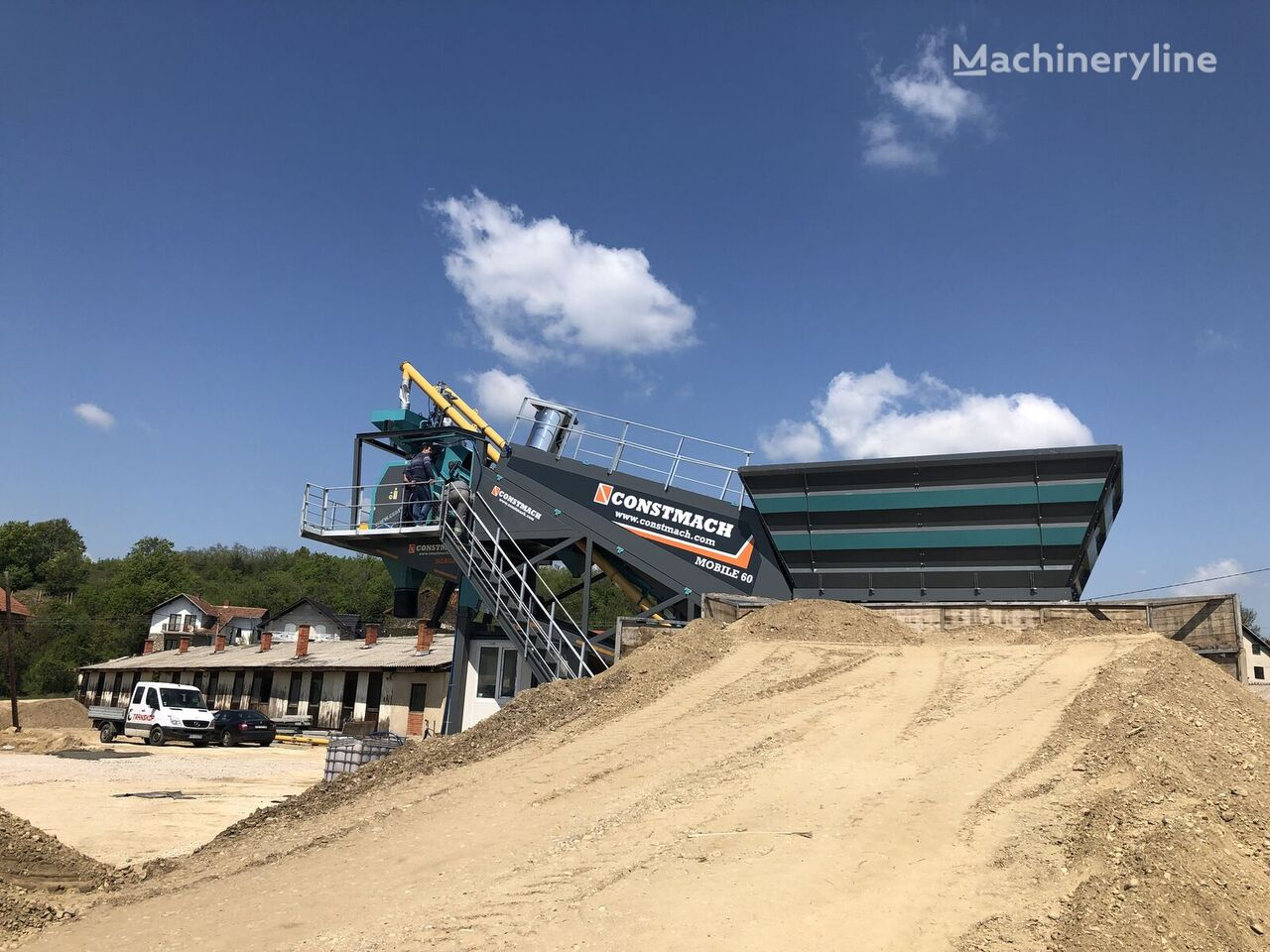 новый бетонный завод CONSTMACH CALL NOW! 60 m3/h MOBILE CONCRETE PLANT, READY FOR DELIVERY