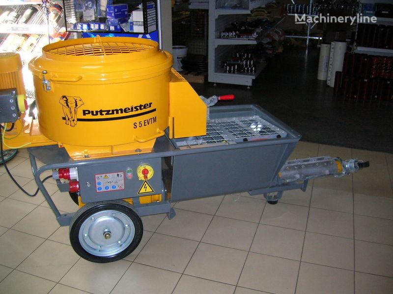новый бетононасос стационарный PUTZMEISTER S5 EV/TM