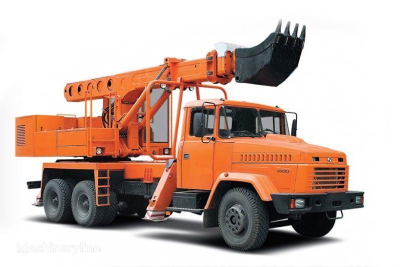 экскаватор-планировщик КРАЗ 65053 UDS-114R Автоэкскаватор-планировщик