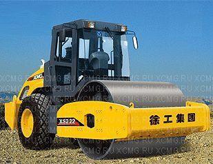 новый каток грунтовый XCMG XS222