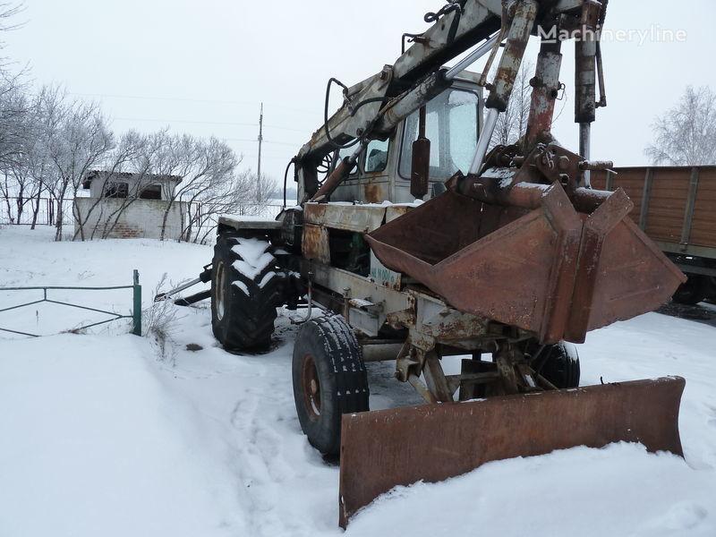 колесный экскаватор ПЭА 1