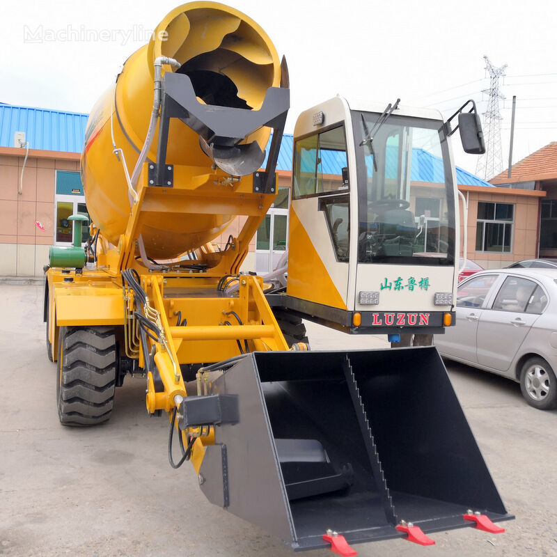 новый заливщик швов selfloading concrete mixer