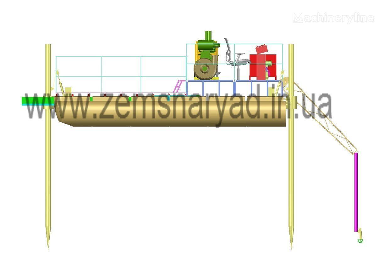 новый земснаряд НСС НСС-250/20-GOLD гидро