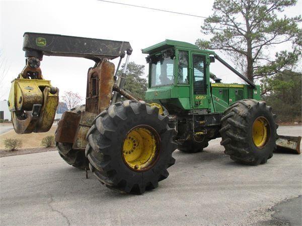 трелевочный трактор JOHN DEERE 648H