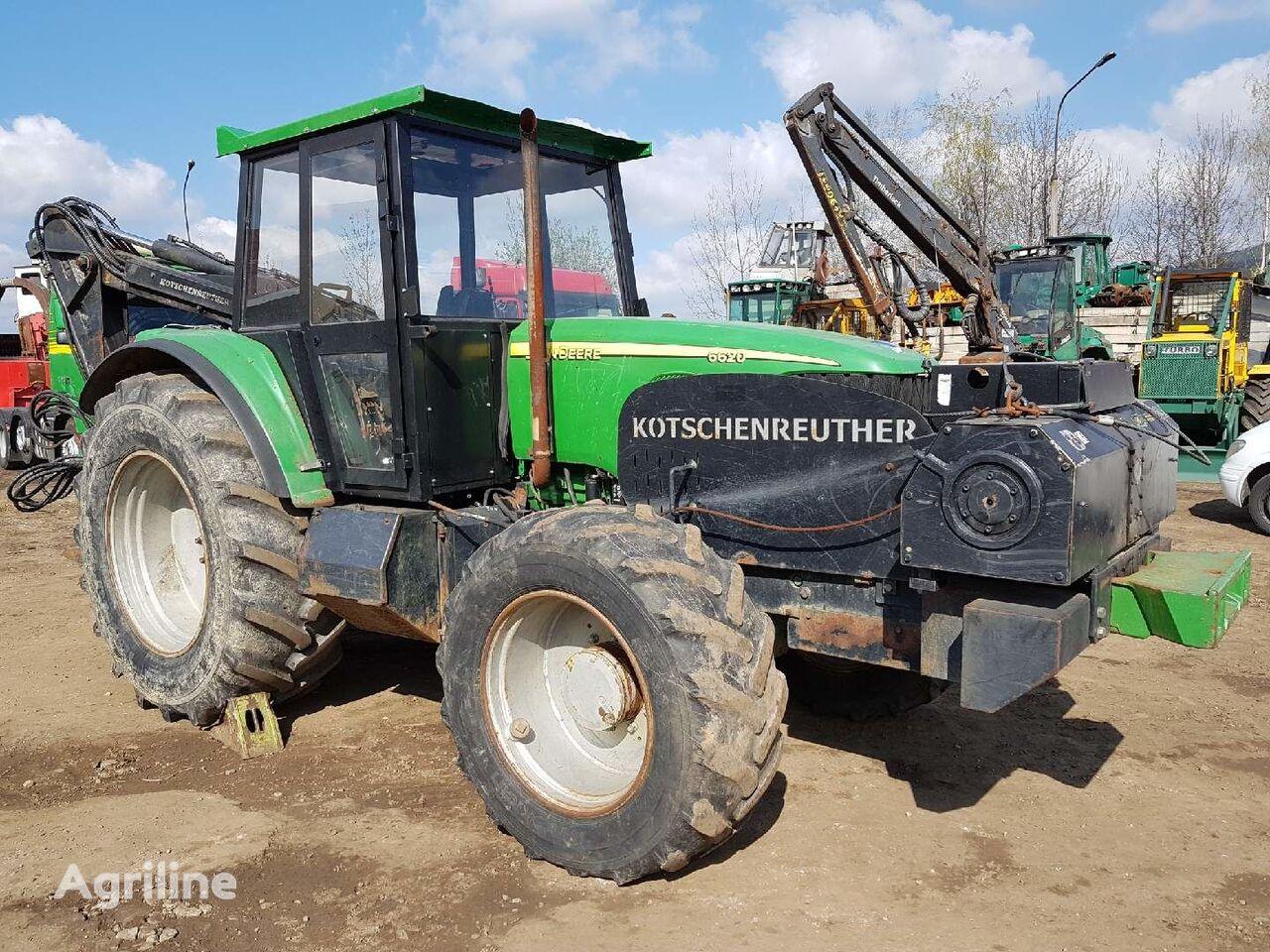 трелевочный трактор JOHN DEERE 6620 KOTSCHENREUTHER