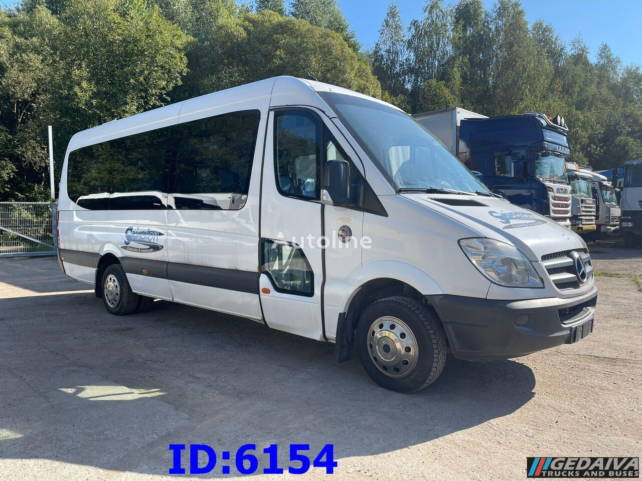 туристический автобус MERCEDES-BENZ Sprinter 516 - Omnibus - Euro 5 - 18 Seats