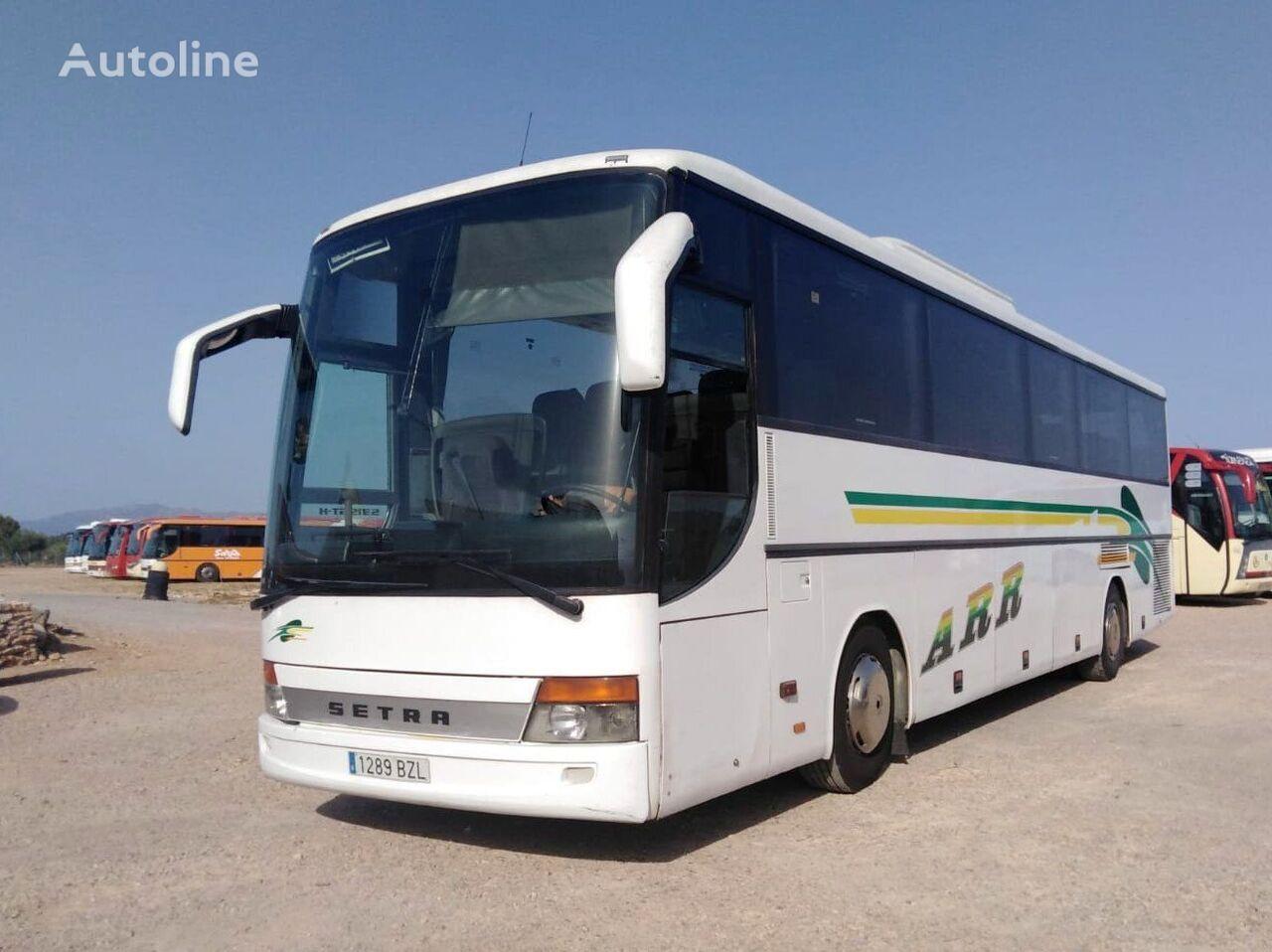 туристический автобус SETRA S315 GT HD MOTOR MERCEDES + 435 CV