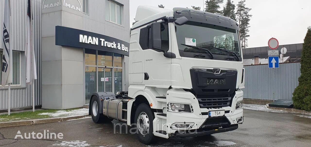 новый тягач MAN TGX 18.440