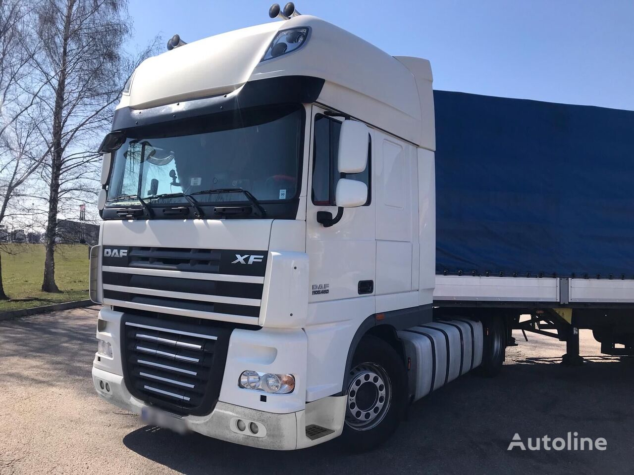 тягач DAF XF 105 460 Manual Retarder