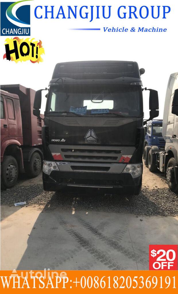 тягач HOWO Used tractor truck 375