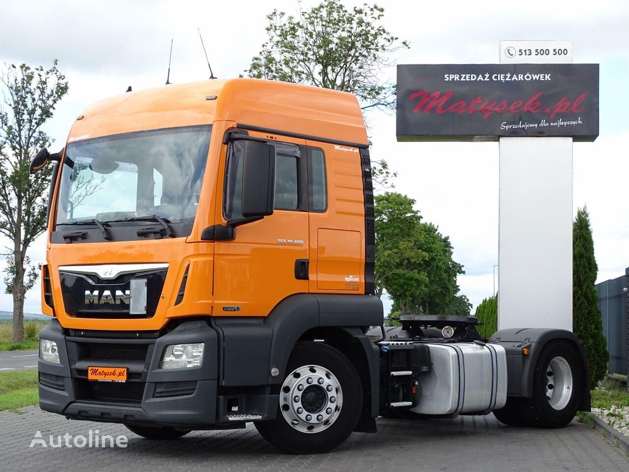 тягач MAN TGS 18.400 / LX / COMPRESSOR BLACKMER / 6800 KG !!! / EURO 6 /