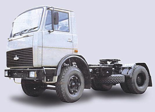 новый тягач МАЗ 5433