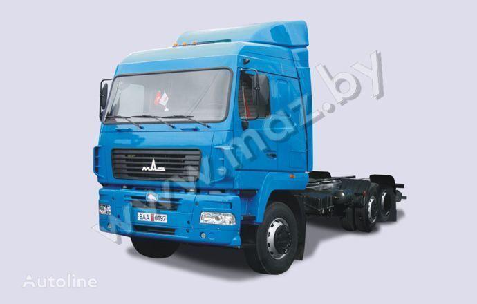 новый тягач МАЗ 6310